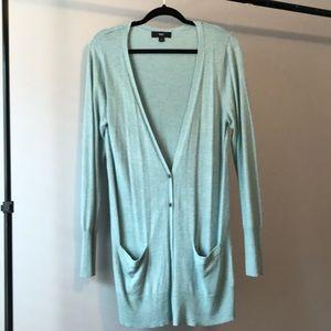 Mossimo green cardigan sweater